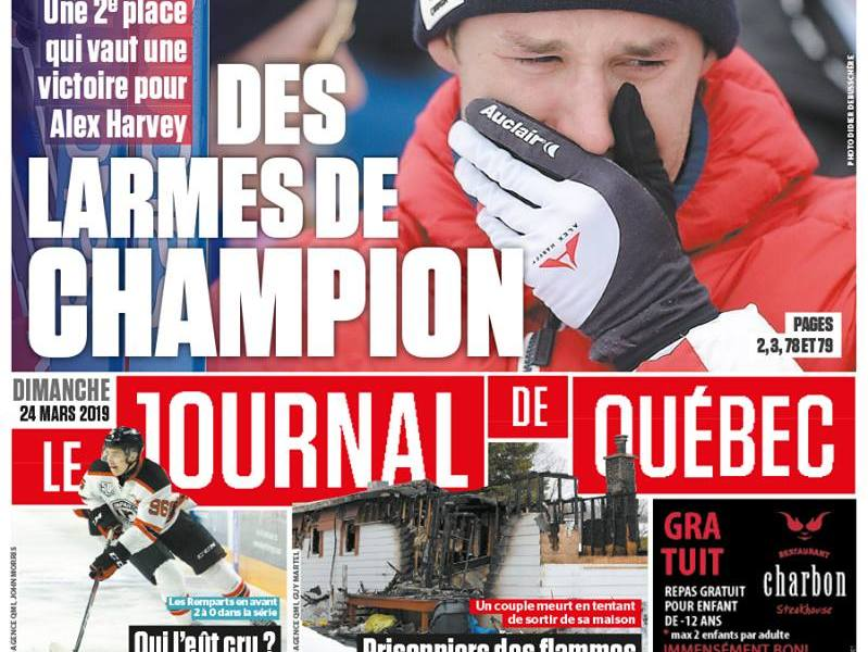 Journal de Quebec Cover