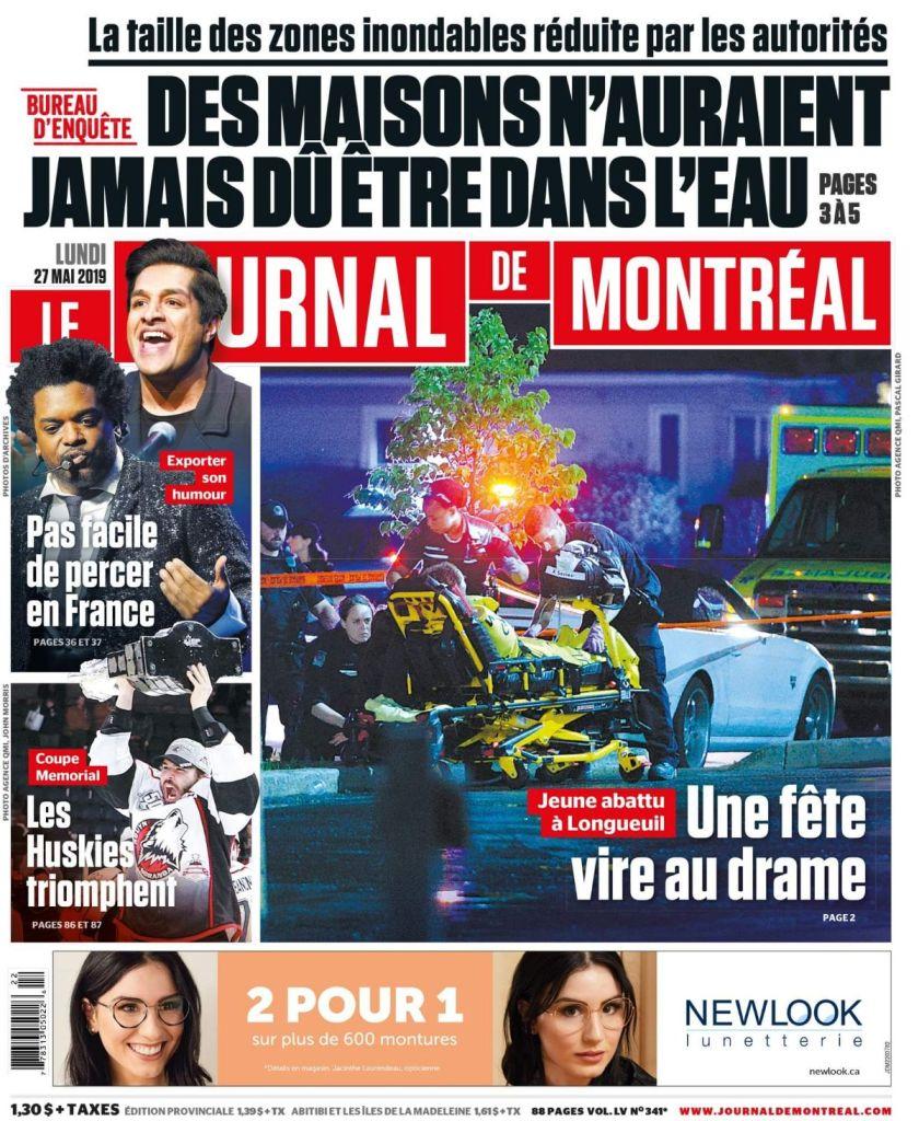 May 27 Journal de Montreal