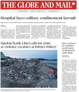 Globe And Mail Cover