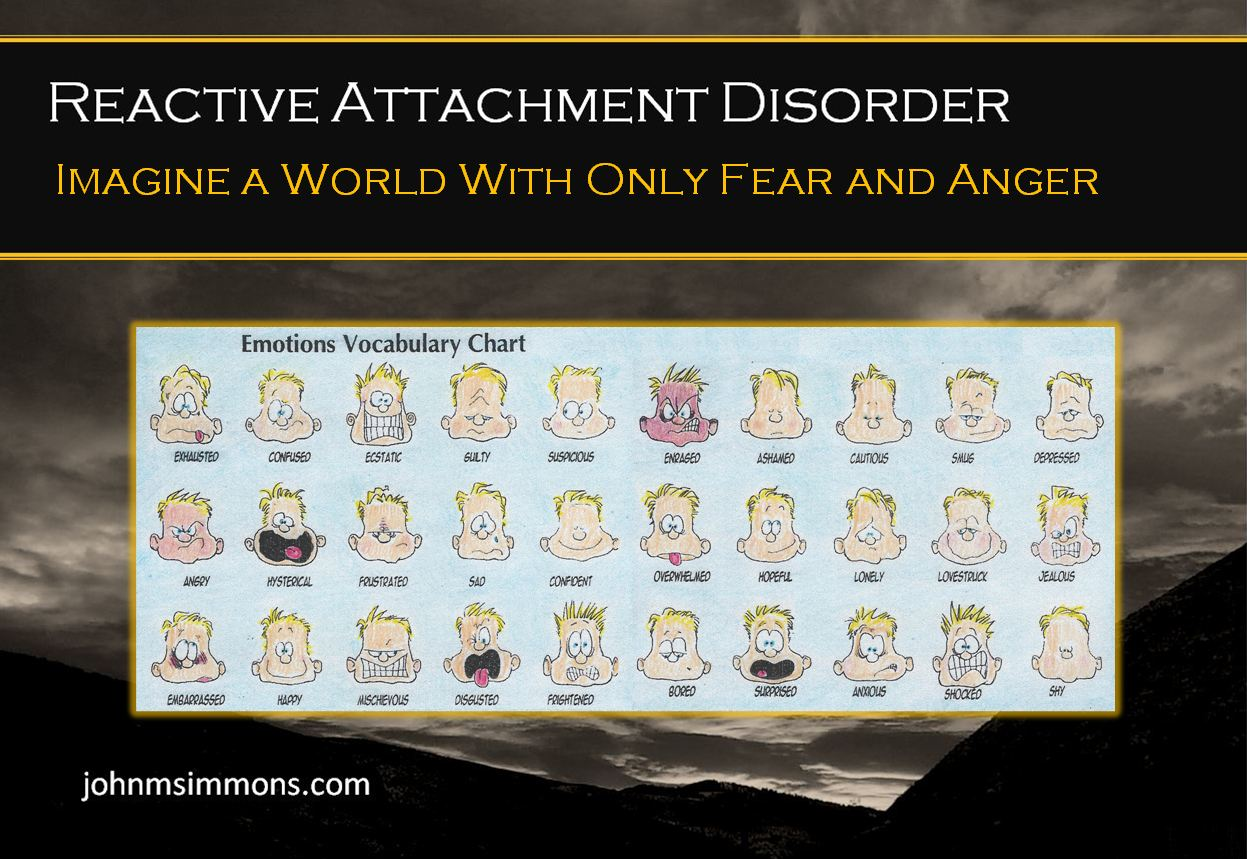 John M Simmons RAD Emotion Limitations Called Reactive Attachment Disorder