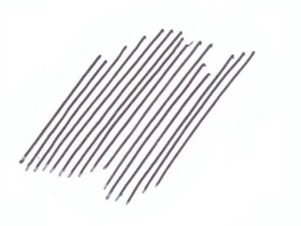 Start with a set of parallel lines.