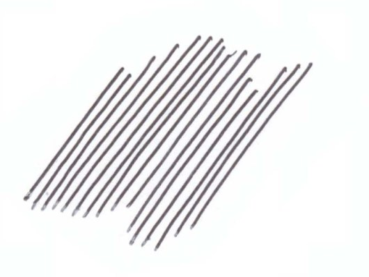 Drawing Parallel Lines With Set Squares : Hatching and crosshatching technique john muir laws