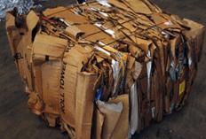 Bale of OCC for plastics blog