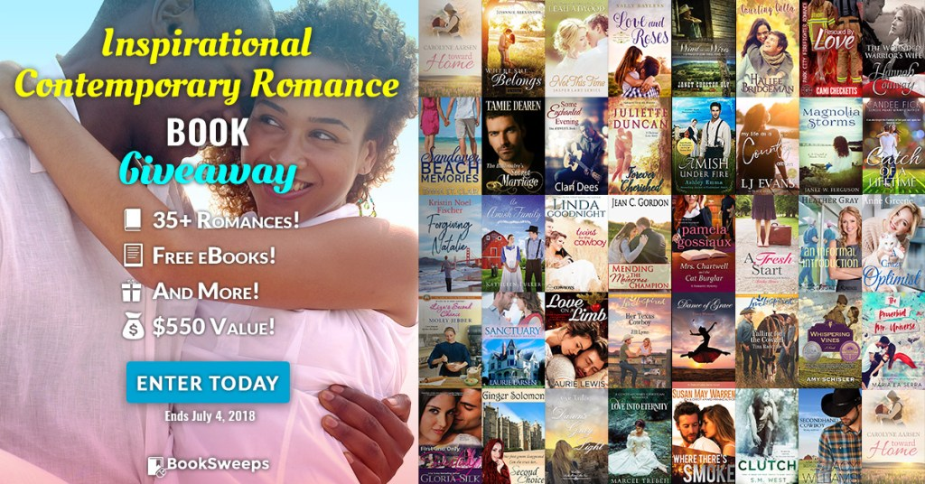 Inspirational Contemporary Romance Giveaway!