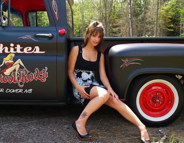 Camaros And Girls Wallpaper Hot Rod Girl