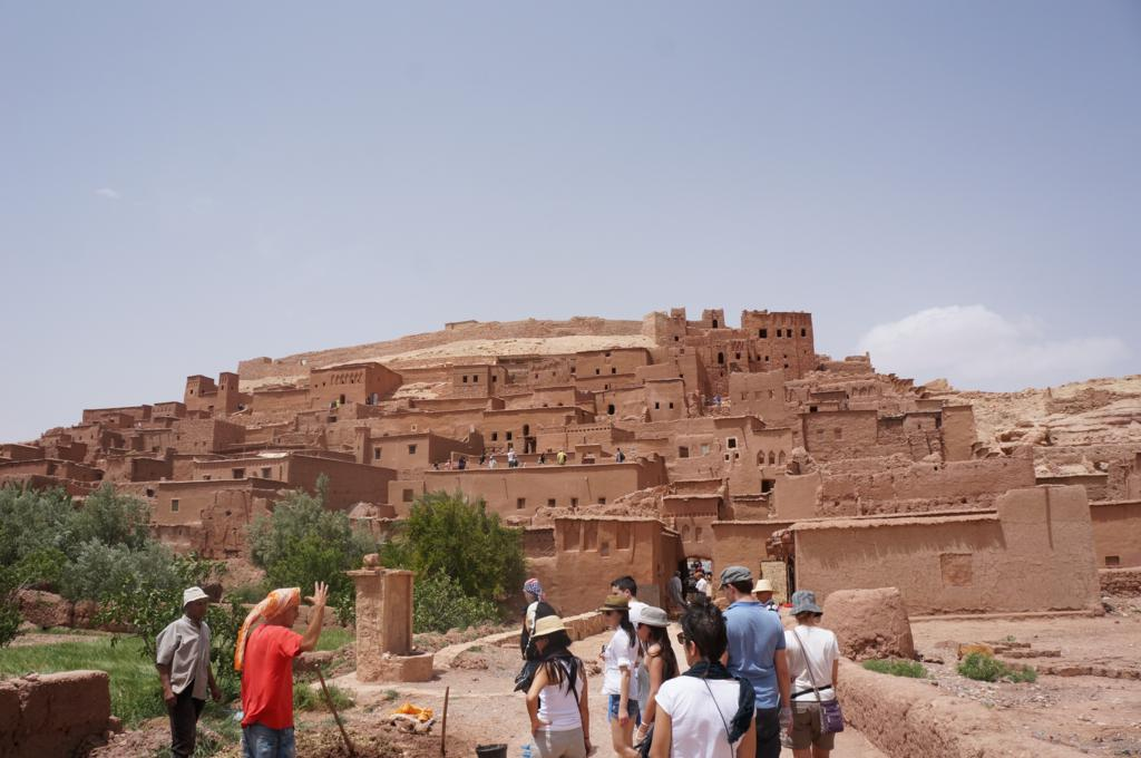 Pit stop at Ait Benhaddou where they filed The Gladiator.