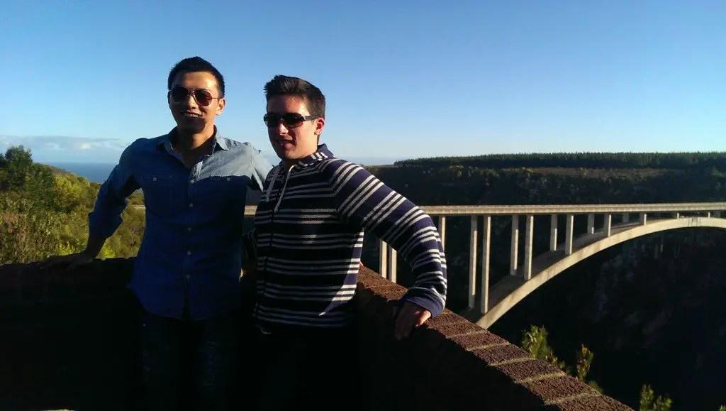 Bloukrans bridge south africa bungy