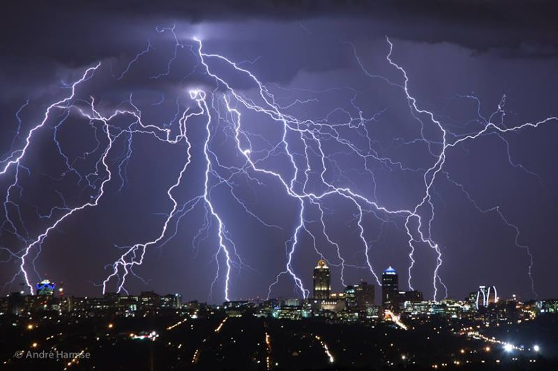 The gods are angry in Joburg.
