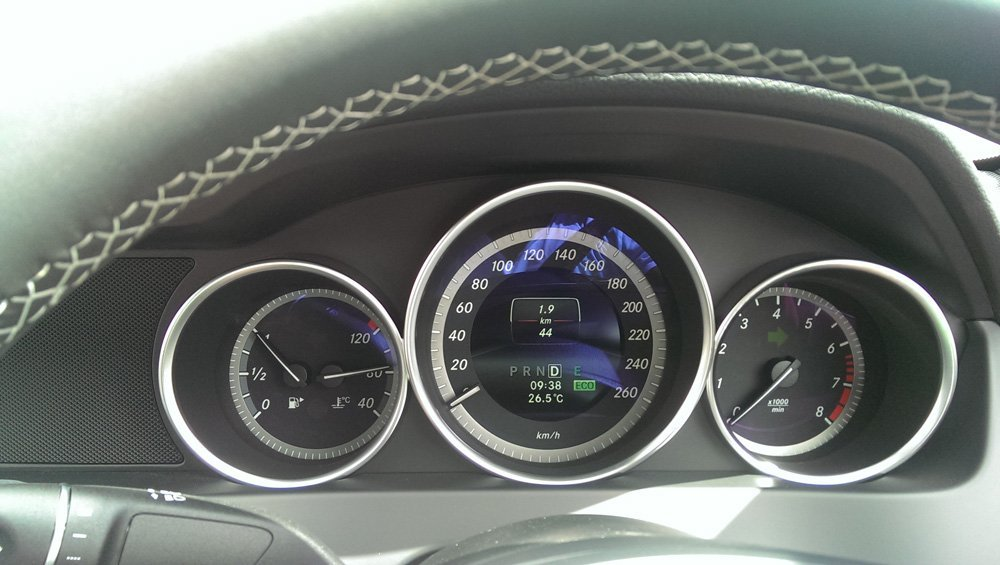 Nothing like starting a roadtrip with only 44km on the dash of your rental car