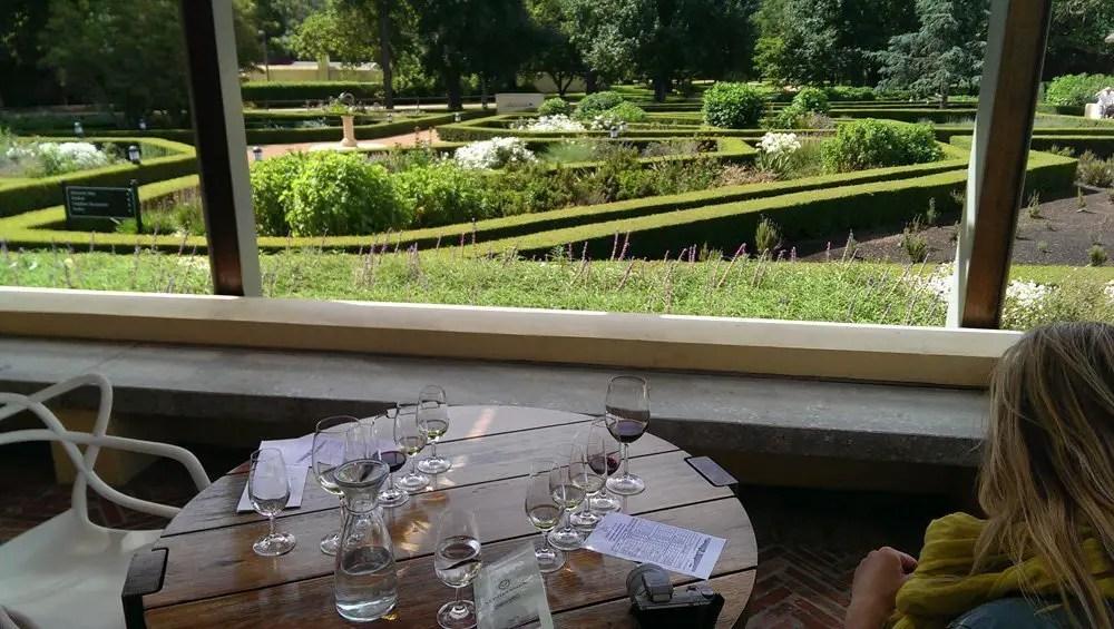 Wine tasting at Vergelegen Estate
