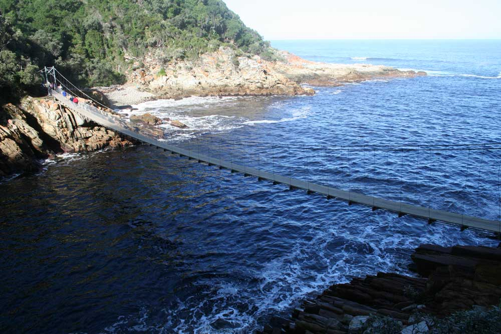 Storms River Bridge, not to be confused with Bloukrans.