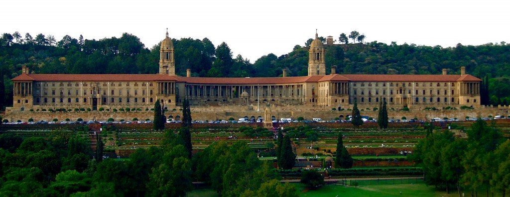 The union building in Pretoria. Some may recognize this building from the movie Invictus