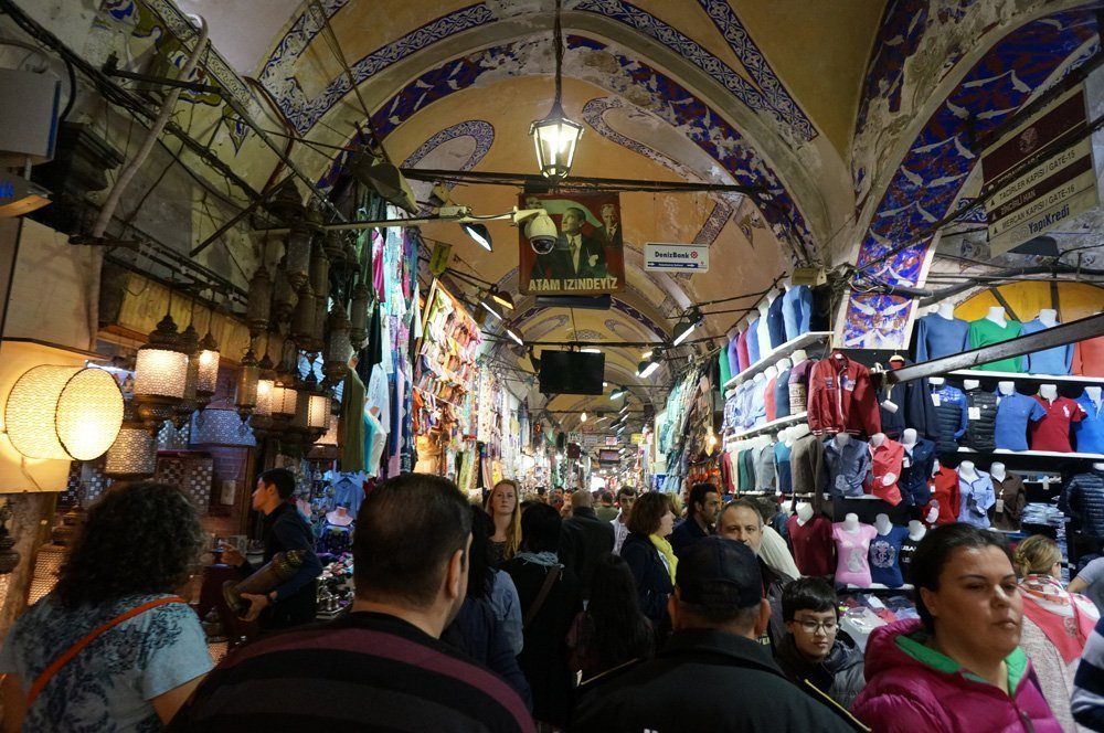 Organized Chaos at the Grand Bazaar.