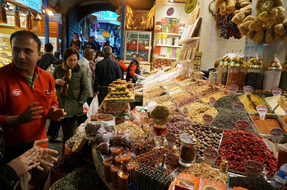 Don't forget about the spices! There is endless supply of these at the Grand Bazaar and Egyptian Bazaar.