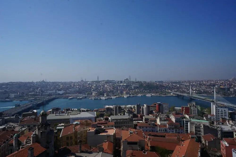 Galata tower views istanbul