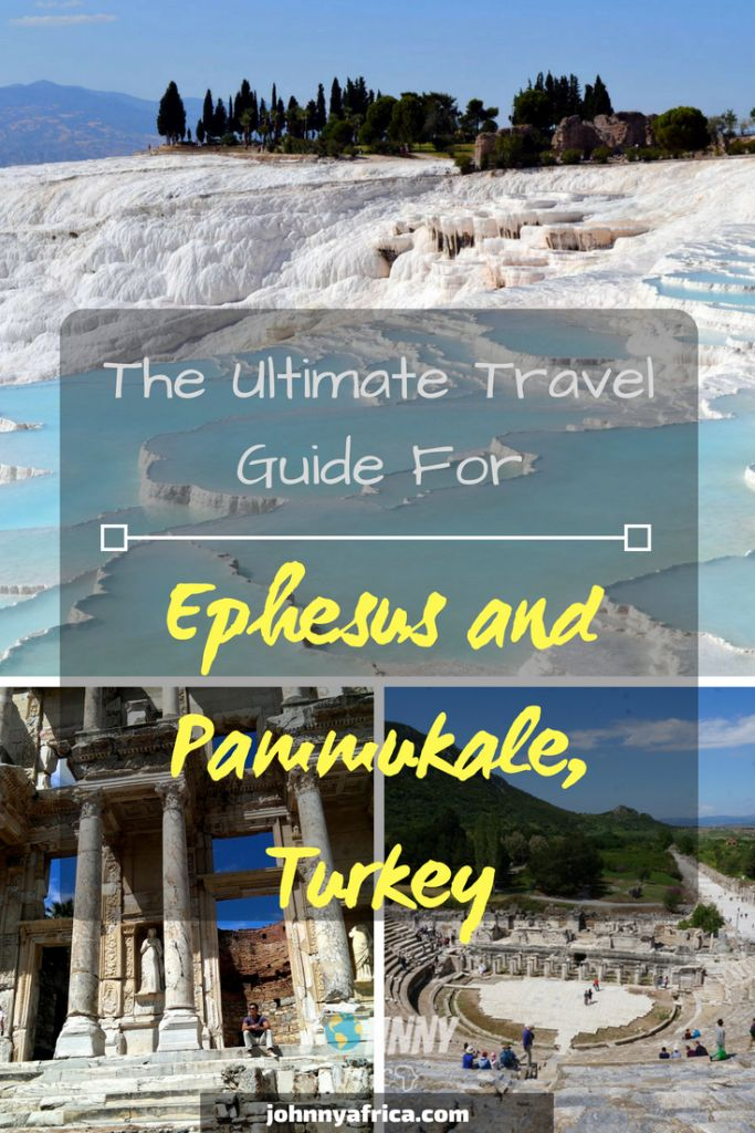 Ephesus and Pamukkale are some of Turkey's most beautiful attractions. They are easy to visit on separate days from Izmir, or Kusadasi. I spent two separate day trips here and absolutely loved the travertine pools and ancient Roman ruins!