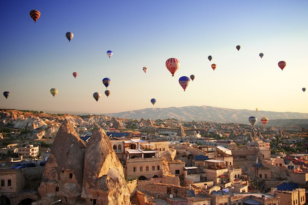 Goreme Sunrise hot air balloon