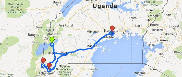 Uganda overland tour