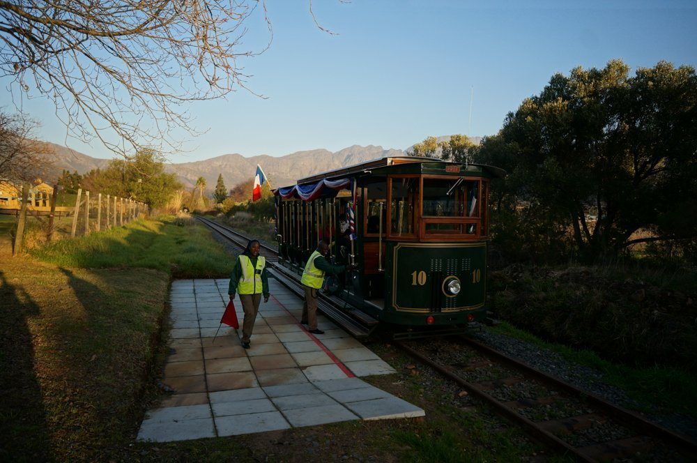 Our wine tram