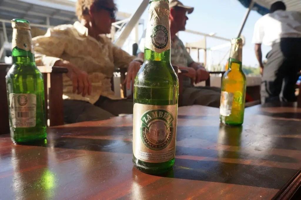 Zambezi, Zimbabwe's official beer.