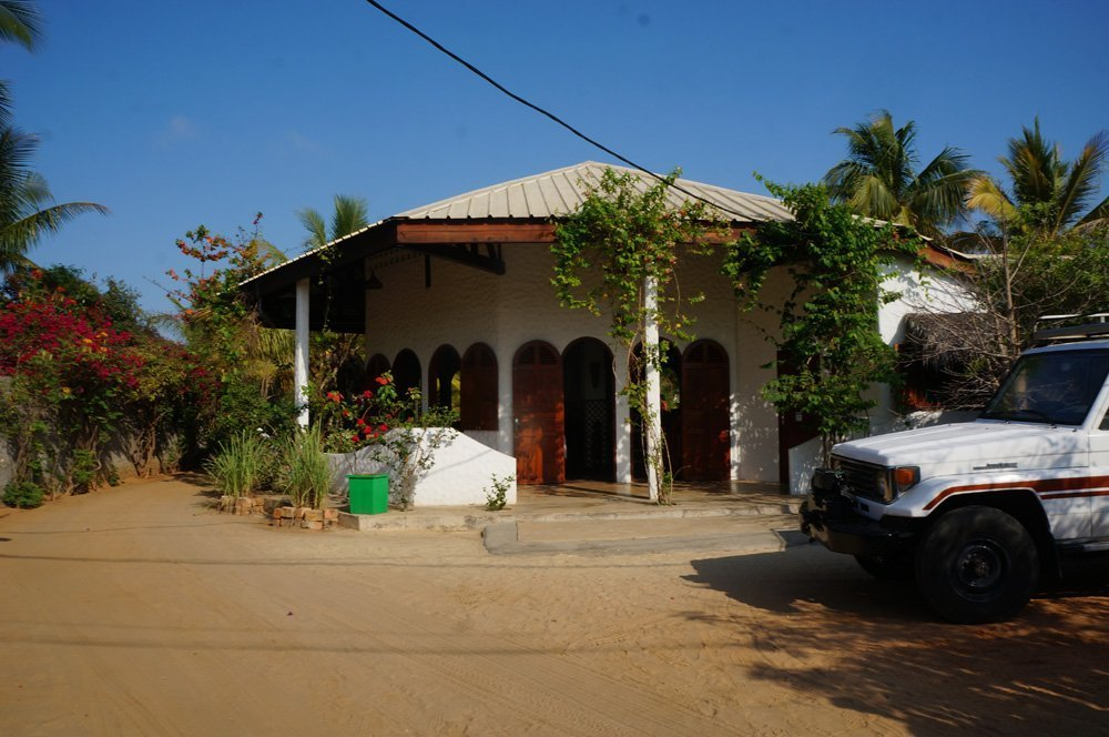 Our accommodation for the 2 nights at Sun Beach hotel, also located next to all the other hotels in Morondava.