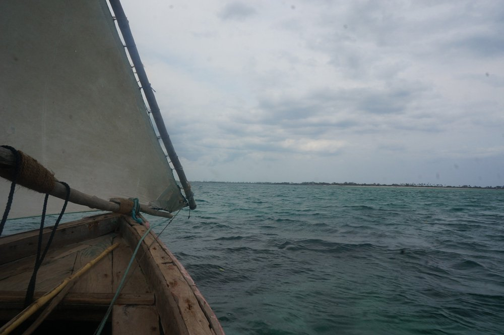 Clouds during my dhow ride in Ilha De Mozambique in October.