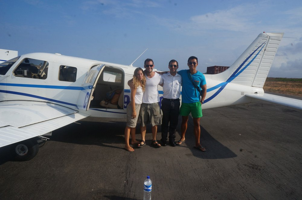 Impromptu private airplane to Ibo Island!