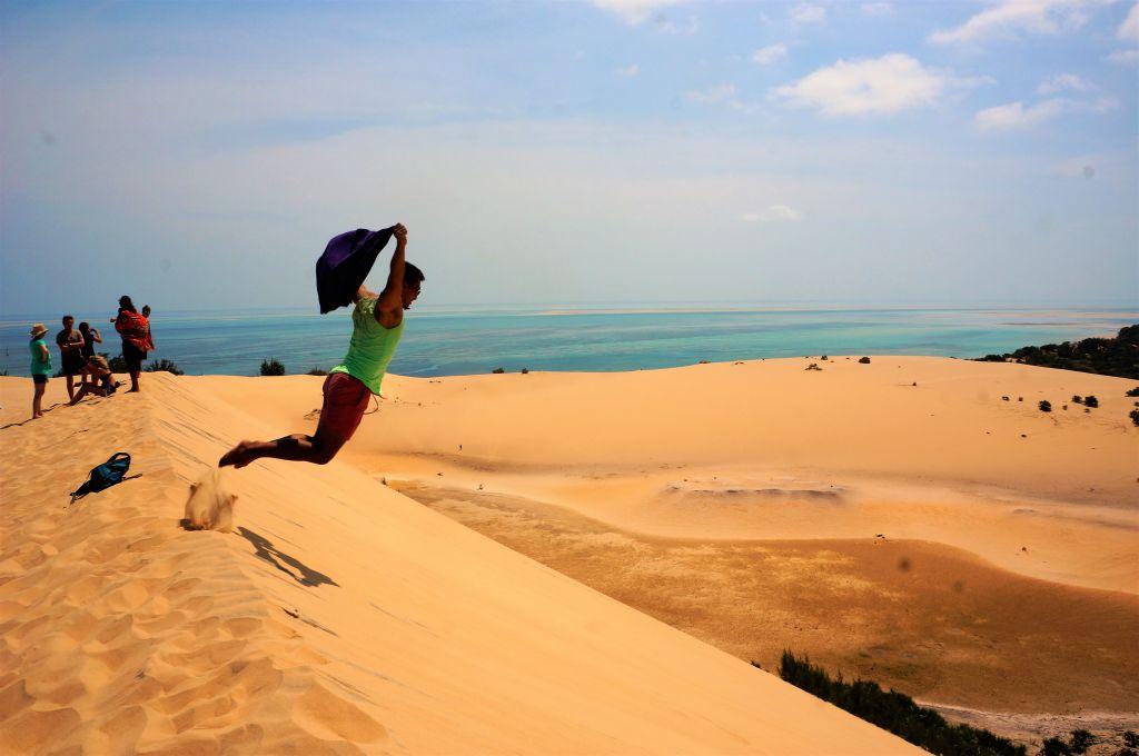 bazaruto island dunes vilanculos mozambique desert