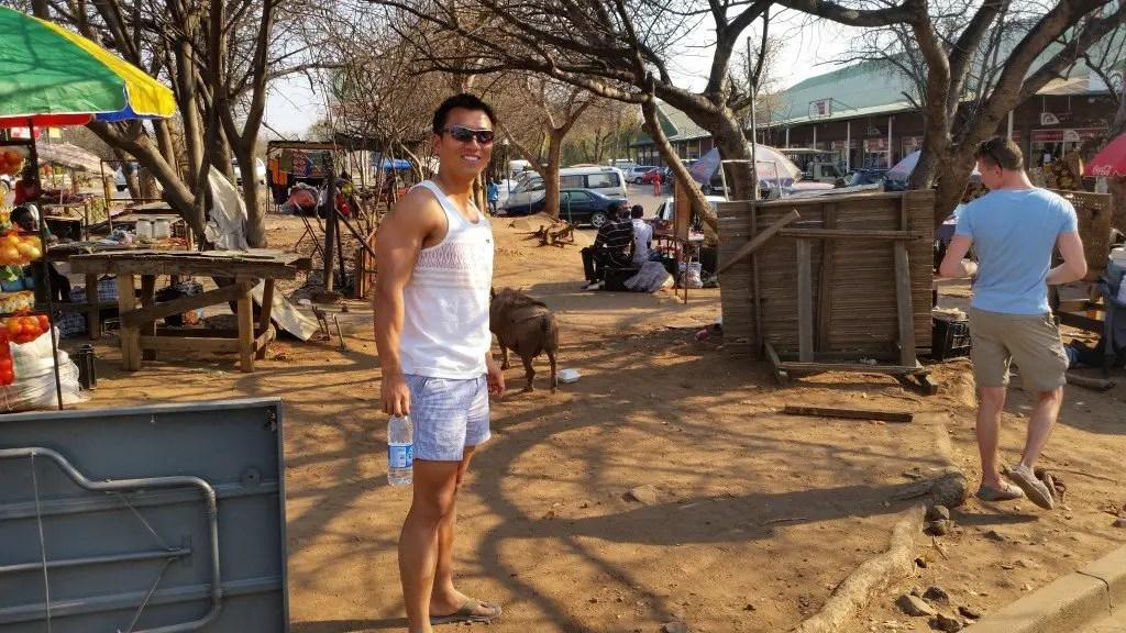 Botswana overland tour