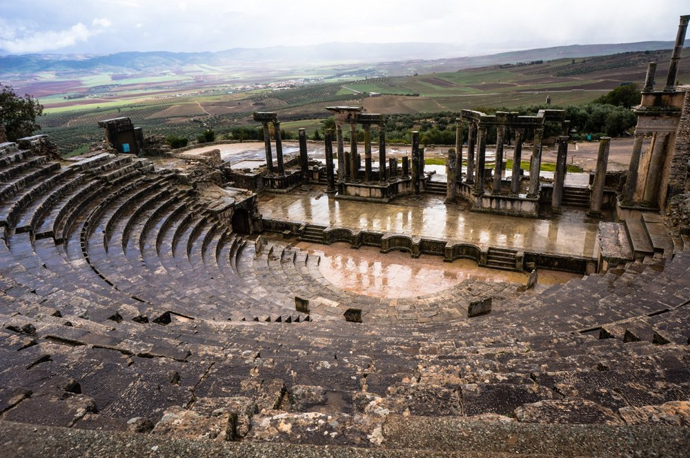 Amphitheater at Dougga