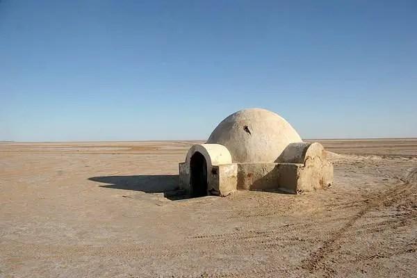 Luke Skywalker hut