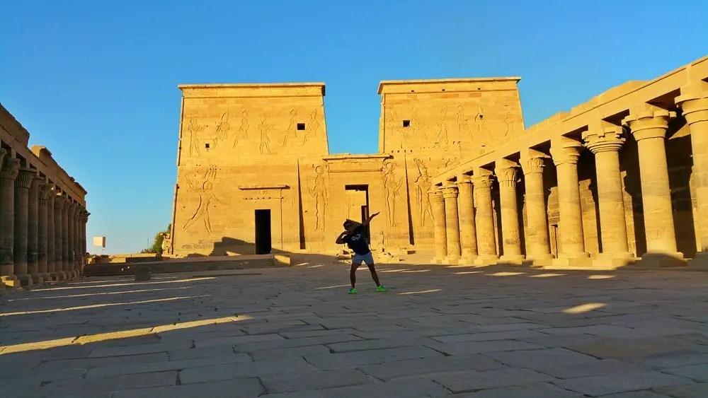 Philae Temple egypt empty