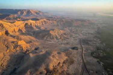 Luxor aerial