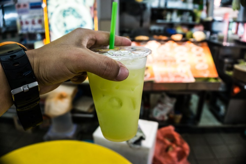Sugarcane Juice: Among the huge selection of juices to wash down all the delicious and spicy food, sugarcane juice was my absolute favorite. For $1.50 SGD, stands would grind out the juices from sugarcanes in front of you, and along with some ice was the ultimate refreshment to the hawker food.