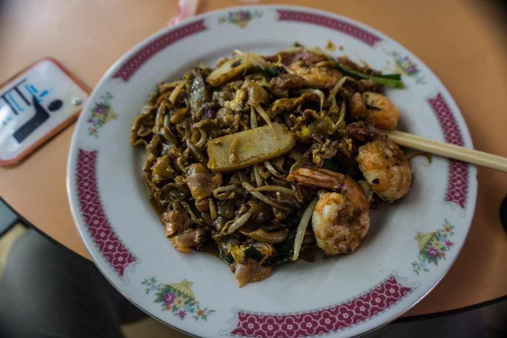 Char Kway Teow: Another signature Singapore dish made with flat noodles, sweet dark sauce and a mix of whatever meats the chef wants to put in. Mine had everything you could imagine on it and it was amazing.