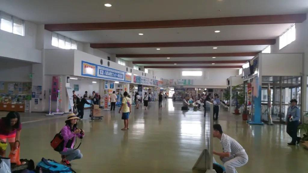 Ishigaki ferry terminal