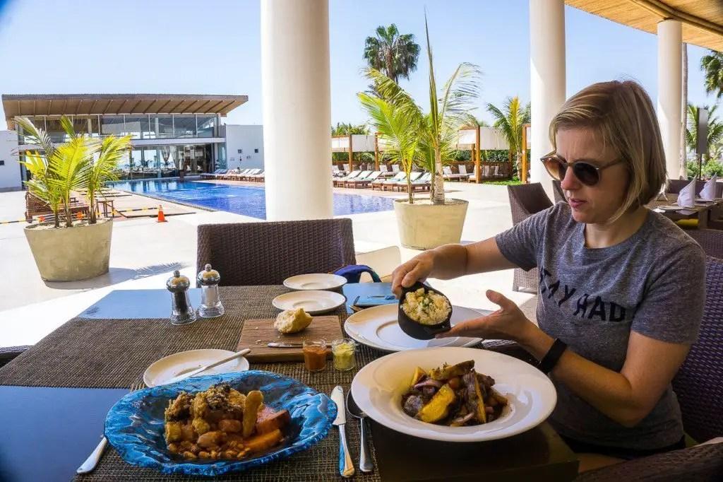 Paracas Hotel restaurant