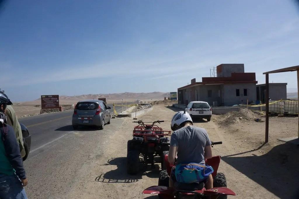 quadbike paracas