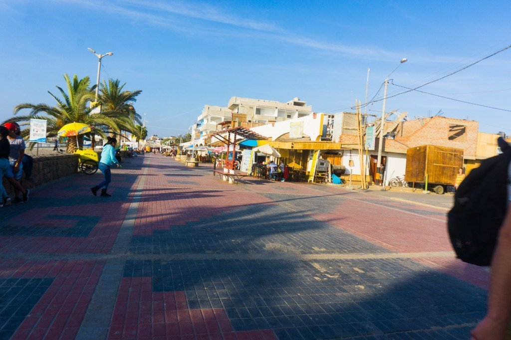 Paracas town
