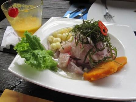 La Mar classic ceviche