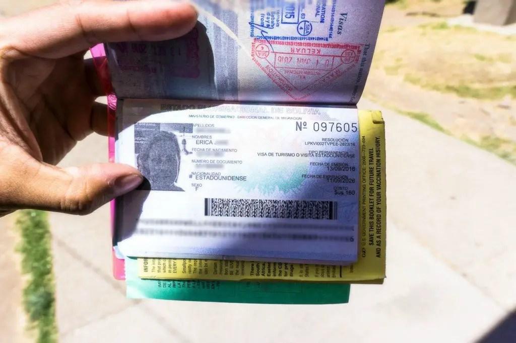 Bolivia visa for americans
