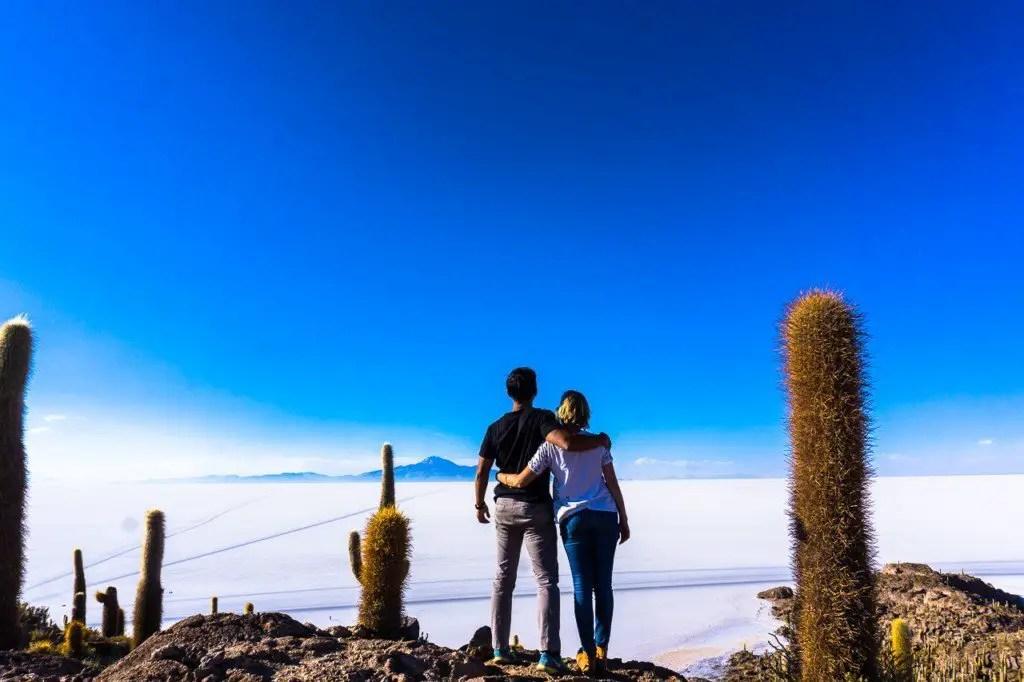 Isla Incahuasi views