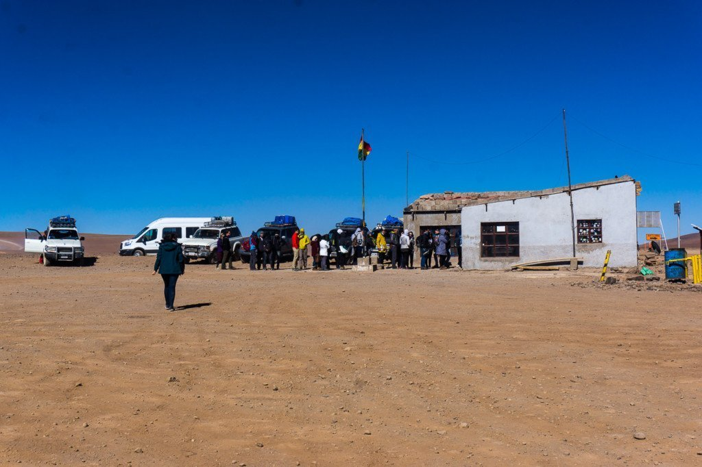 Bolivia Chile border san pedro de atacama