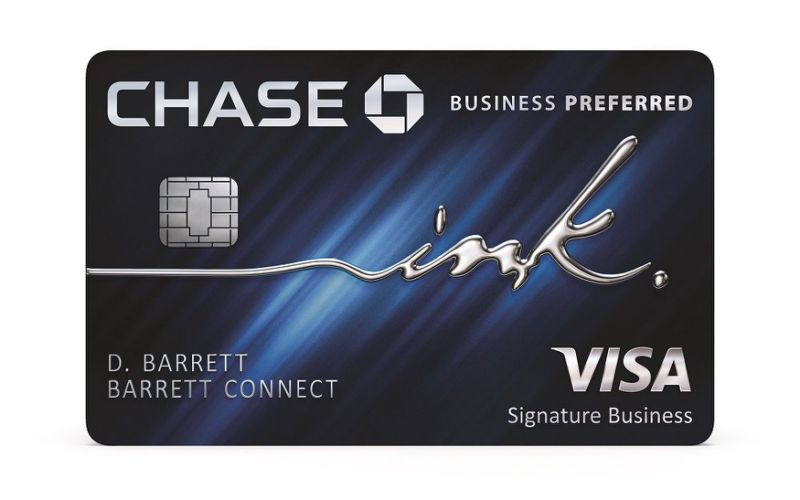 Ink Business Preferred Credit Card from Chase