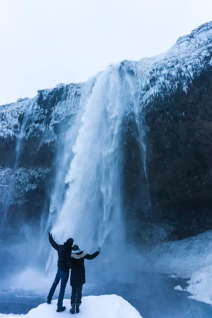Seljalandsfoss waterfall ring road