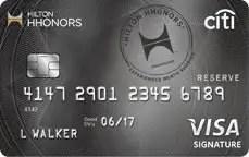 Hilton Reserve Citi Card