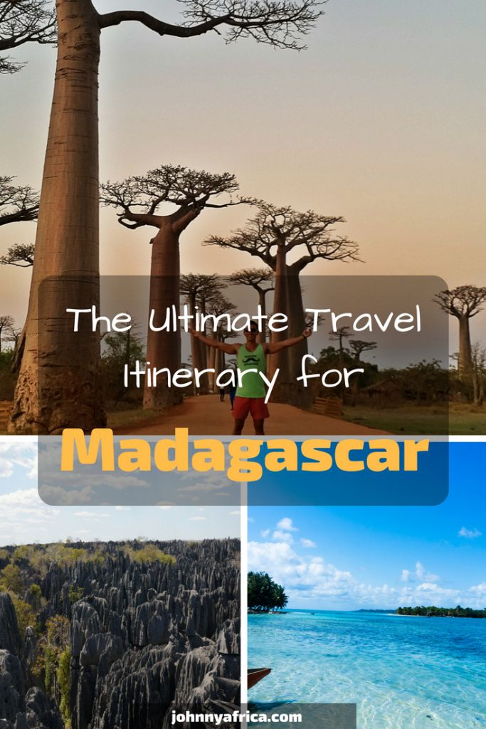Madagascar, the 8th continent of the world, is one of the most unique and stunning places in the world. Its diversity of animals and landscapes is unrivaled in the world. Here is an itinerary to do Madagascar right. #madagascar #travelitinerary #traveltips #travel