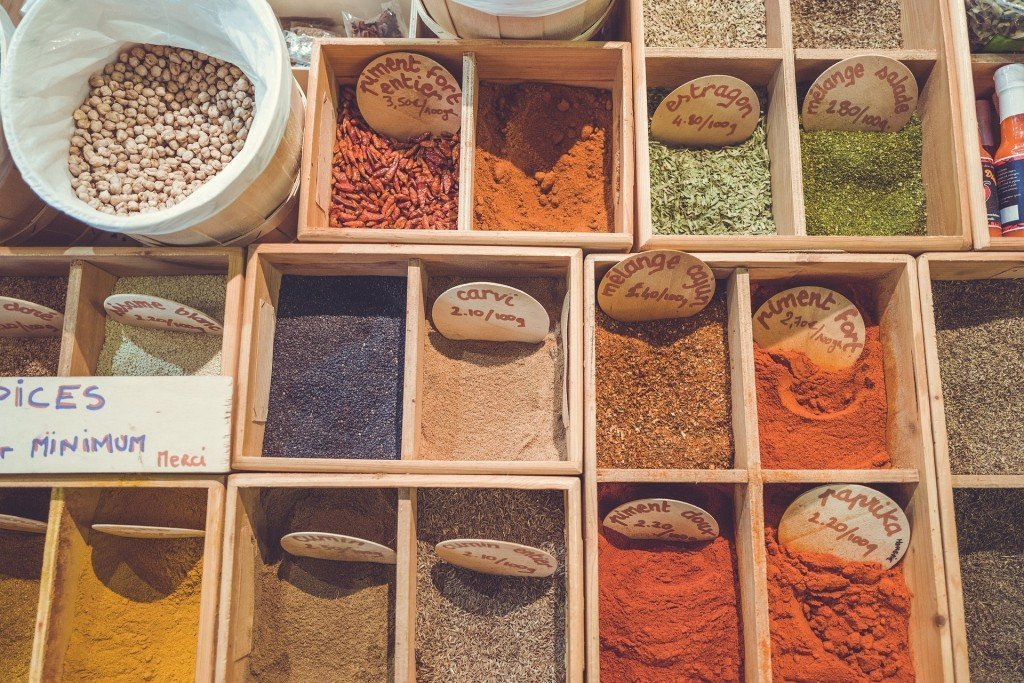 Stone town spices