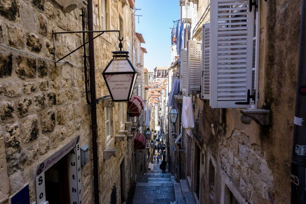 Dubrovnik old town streets