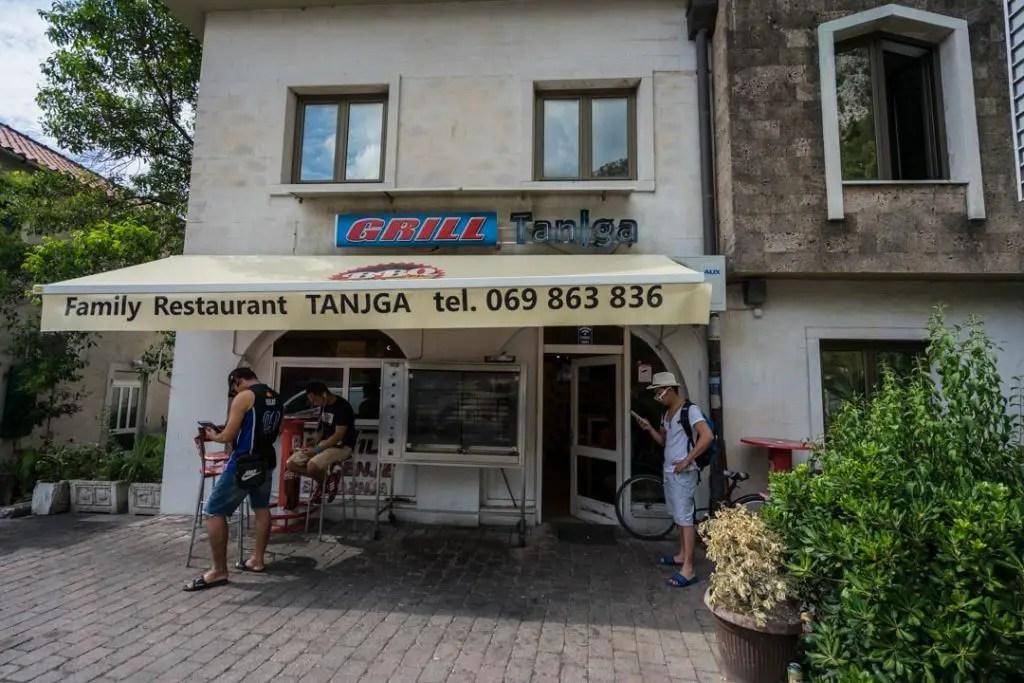 Tanjga restaurant kotor
